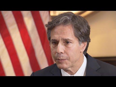 Deputy U.S. National Security Adviser Tony Blinken on ISIS