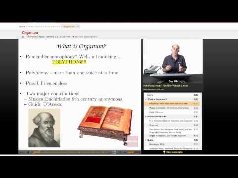Music History: Organum