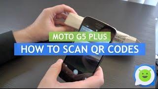 موتو G5 Plus - كيفية مسح رمز الاستجابة السريعة