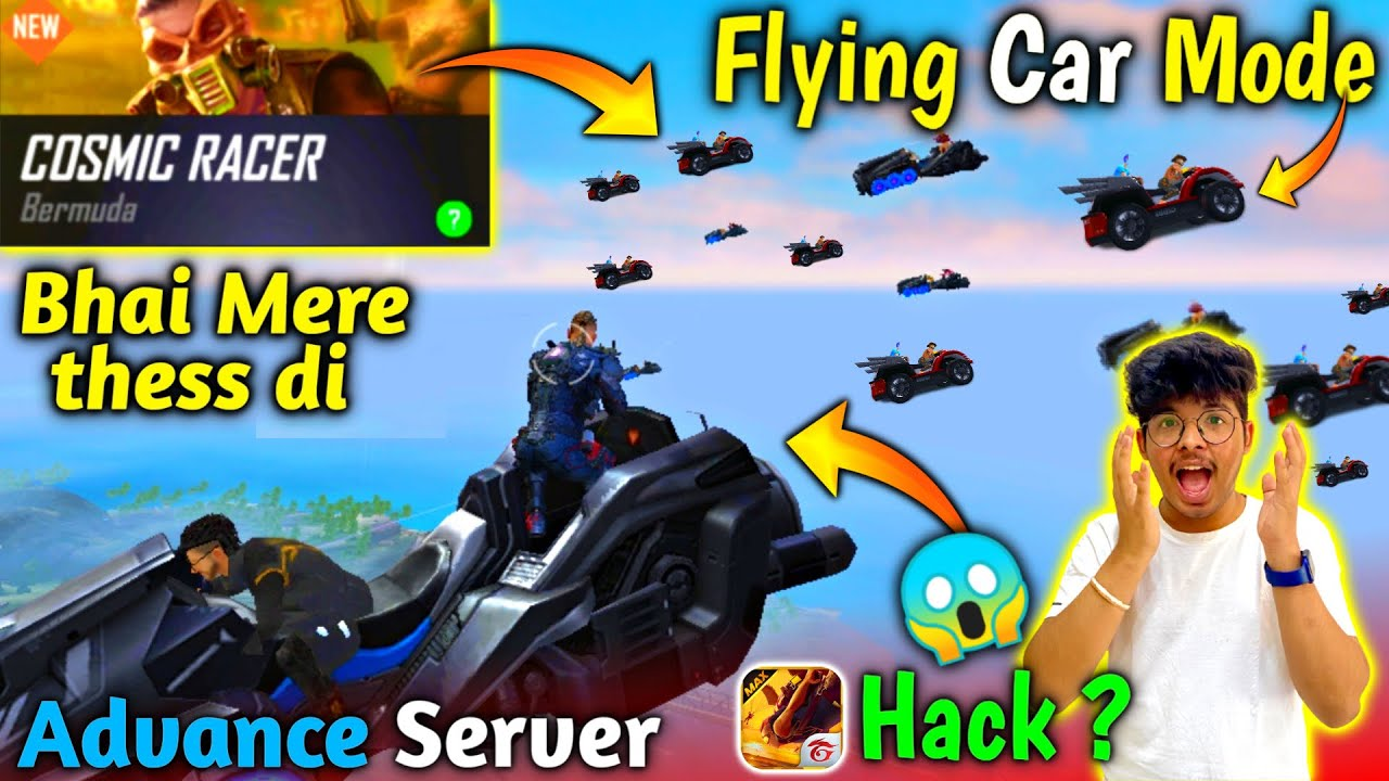 Flying  Cars 😂 || New Mode in Freefire :- Cosmic Racer SAMSUNG,A3,A5,A6,A7,S5,S6,S7,S9,A10,