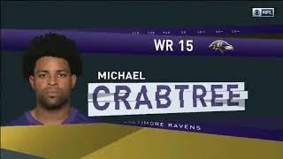 Michael Crabtree vs Malcolm Butler (2018) | WR vs CB Matchup