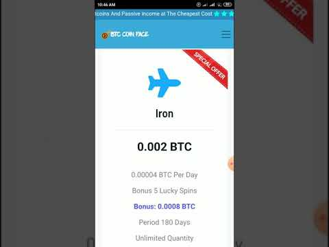Face….new free bitcoin mining site and sign up bonus 0.001 btc free