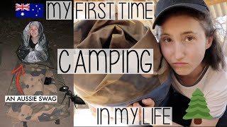 CAMPING IN AUSTRALIA FOR THE FIRST TIME EVER! HIKES, SWAGS & TRYING VEGEMITE | HOLLY GOES SOLO #007