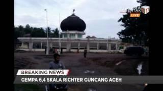 Gempa Di Aceh, Ratusan Ruko Dan Bangunan Roboh