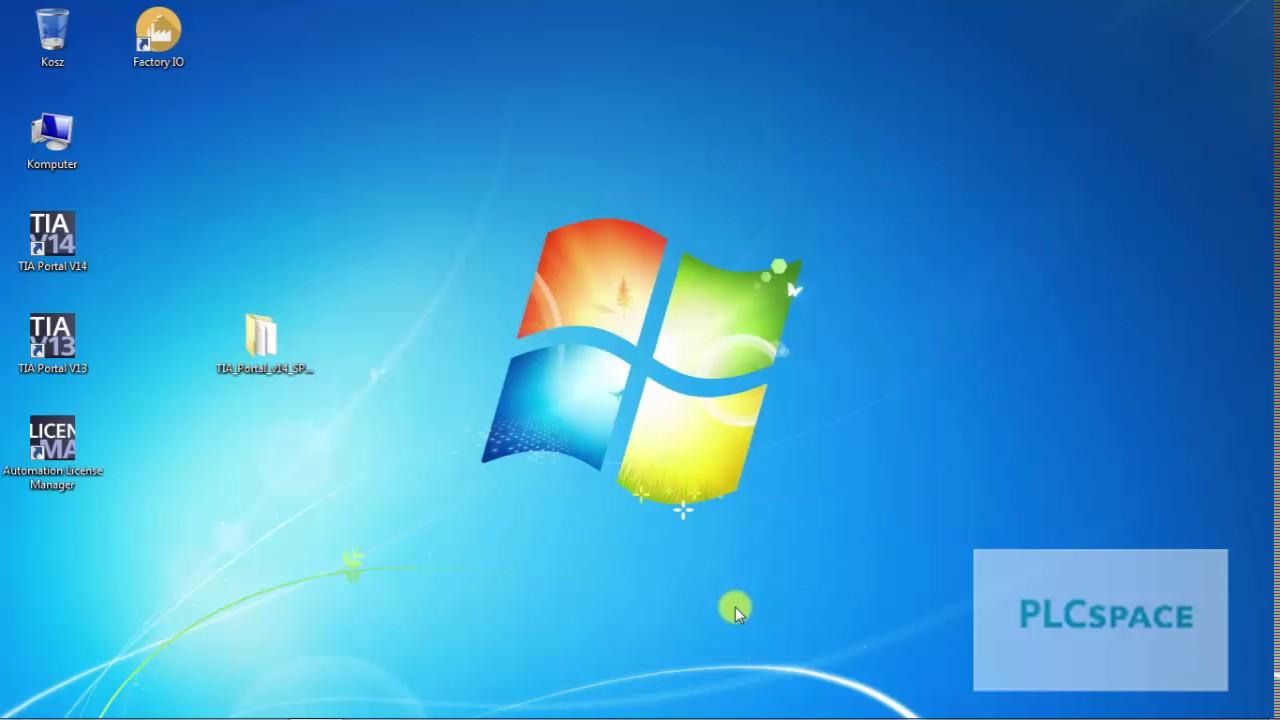 Instalacja PLCSIM TIA Portal v14 SP1 Windows 7