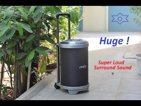 Artis BT900 Karaoke Trolley Bluetooth Speaker Review ! - Best for Home & Office Parties !