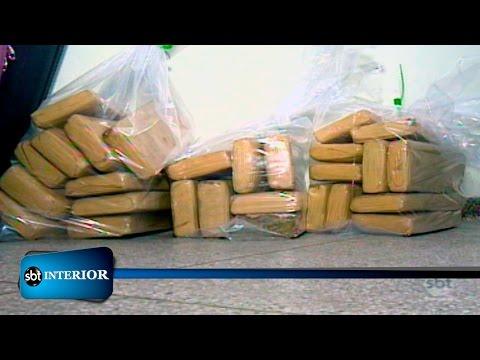 Casal é preso com 27 quilos de maconha em rodovia