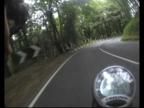 Crazy Fast Cycling - Descent 80 Km/h