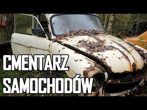 Cmentarzysko samochodów z PRL - Urbex History