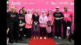 Tunku Azizah sertai larian KL Pink Oktober Walk 2019