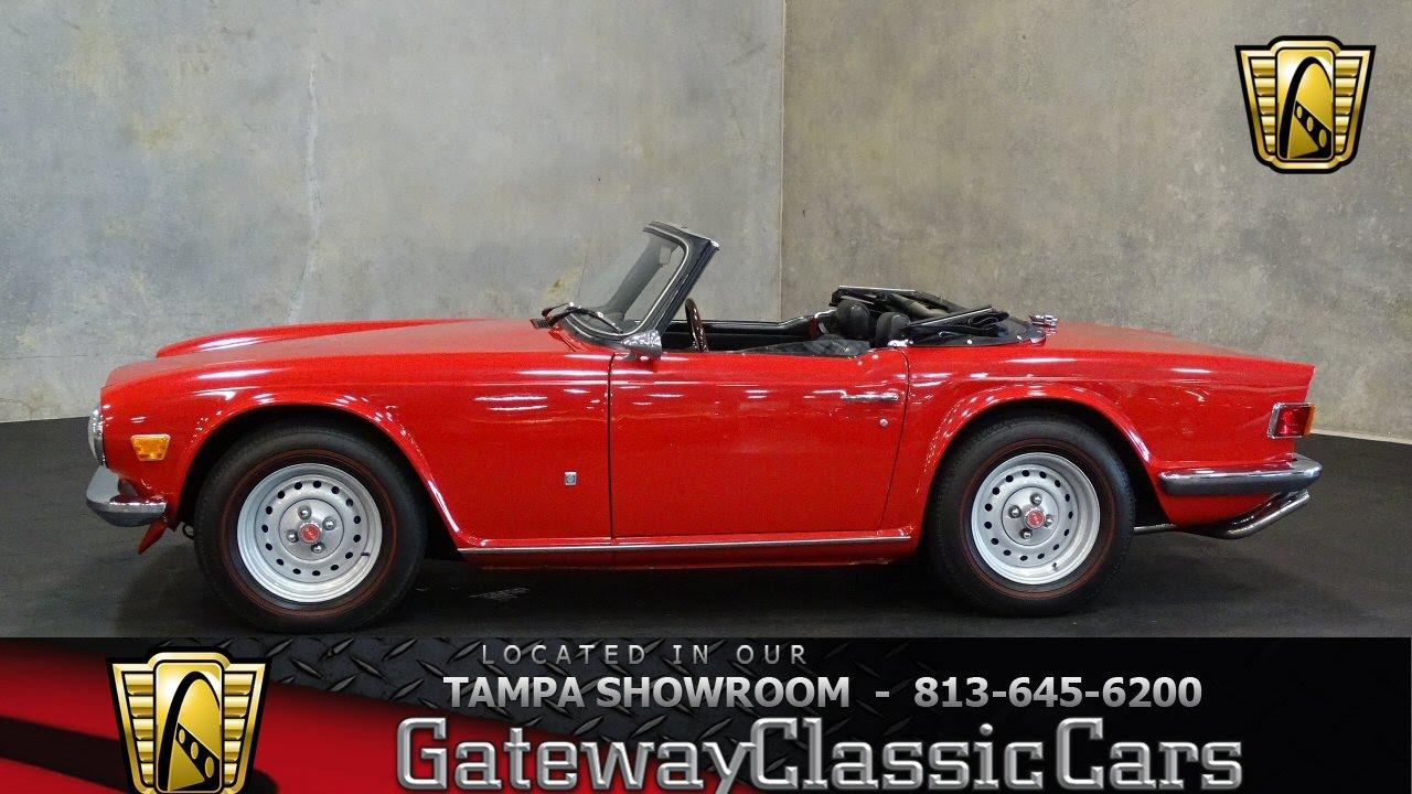 #675 TPA - 1972 Triumph TR6
