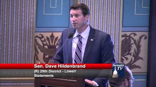 Sen. Hildenbrand discusses Firefighters Fund