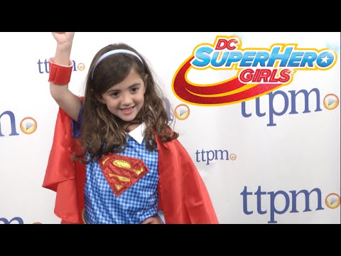 DC Super Hero Girls Supergirl Child Costume from Rubies Costumes  sc 1 st  YouTube & DC Super Hero Girls Supergirl Child Costume from Rubies Costumes ...