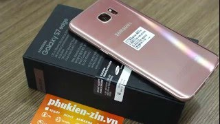 The Rose Gold Galaxy S7 Edge!