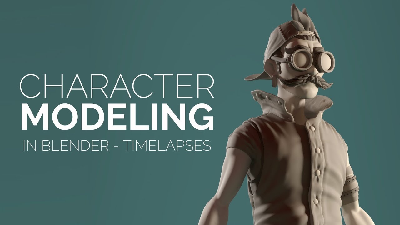 Introduction To Character Modeling In Blender Free : Character modeling in blender introduction youtube