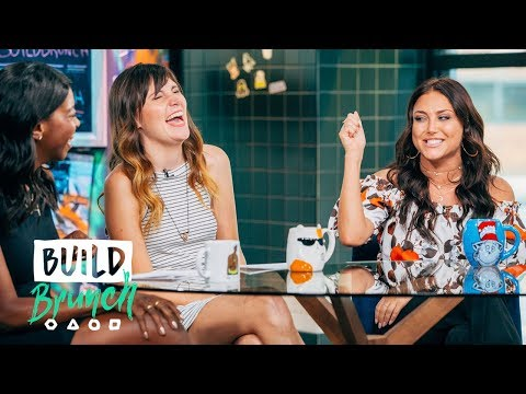 Cassie Scerbo Joins The BUILD Brunch Table