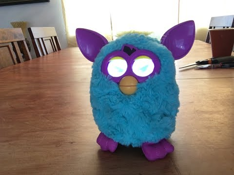 Furby 2012 Without Fur
