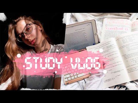 ПОДГОТОВКА К ЕГЭ 2020/STUDY VLOG|Elizabet Mayer