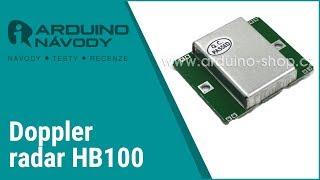 Arduino návody | Doppler radar | HB100