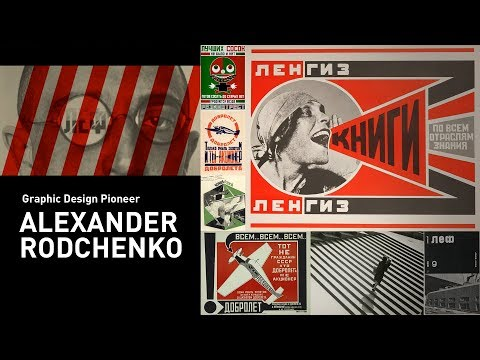 Graphic Design Pioneer—Alexander Rodchenko Russian Constructivist