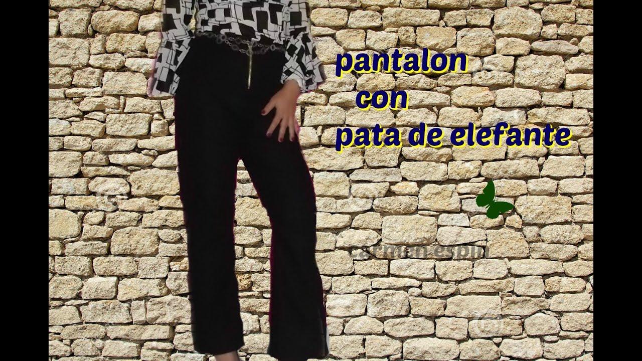 Diy Pantalon Pata De Elefante Youtube