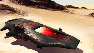 ADVANCED AIRCRAFT CARRIER & FLEET DESTROYED | Homeworld: Deserts of Kharak Gameplay