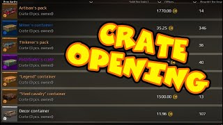 OPENING CRATES, IS IT WORTH? - Crossout gameplay
