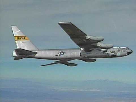 X-43A Goes 7,000 MPH - The B-52 Mothership Takes Off - YouTube