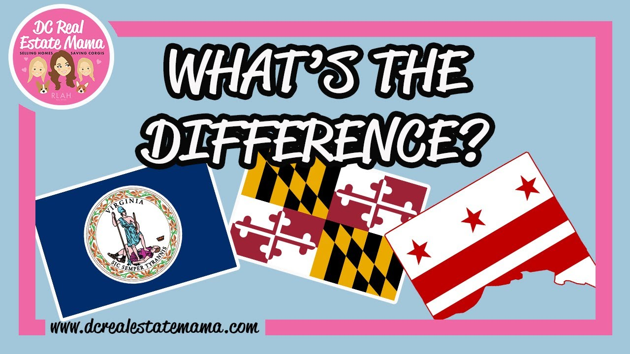 Moving to the DC area? What Is the Difference between Living in Washington DC, Maryland & Virgin