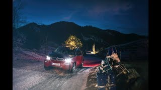 BMW i3 powers a Christmas tree in new Christmas ad