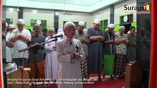 Murottal Surat Al Fatihah & Al Baqarah 183 186 - Qori