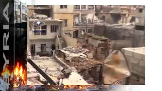 news   20140205   First best quality footage destruction of Zabadani