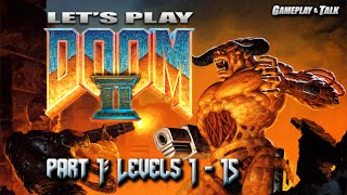 Let's Play DOOM II for the PC (Part 1 of 2) - Ultra Violence