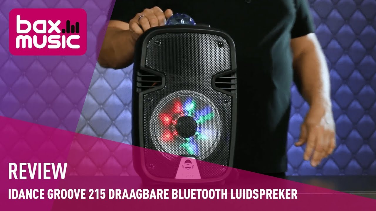 Trolley Lautsprecher Idance Idance Groove 215 Draagbare Bluetooth Luidspreker Review