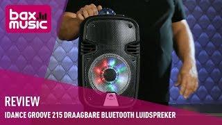 iDance Groove 215 draagbare Bluetooth luidspreker - Review