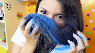 COME COLORARE I CAPELLI IN MODO TEMPORANEO! (Life Hacks ITA)