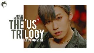 LIGHT US, RAISE US, FLY WITH US | Line Appreciation: Keonhee (건희)
