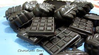 Low Carb Sugar-free Chocolate Bars (Atkins Diet Phase 1) | Dietplan-101.com