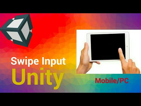 Swipe In Unity for Mobile Input | Android / IOS/PC