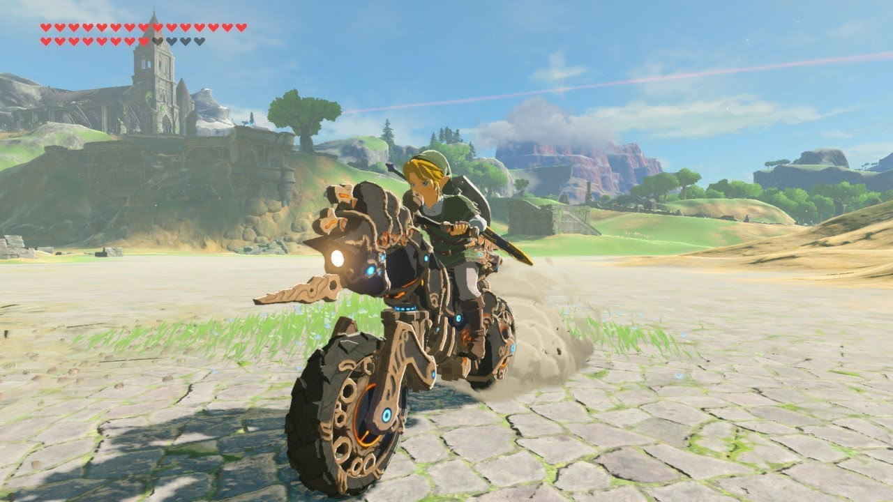 Zelda Breath Of The Wild Master Cycle: Riding The Master Cycle Zero