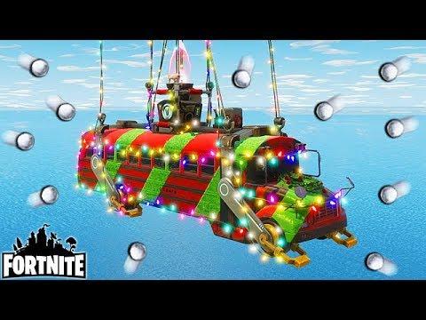 Wallpaper Fortnite Christmas