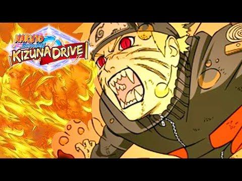 NARUTO & KURAMA ATTACK! | Naruto Shippuden: Kizuna Drive Gameplay Walkthrough Part 2 (PSP)