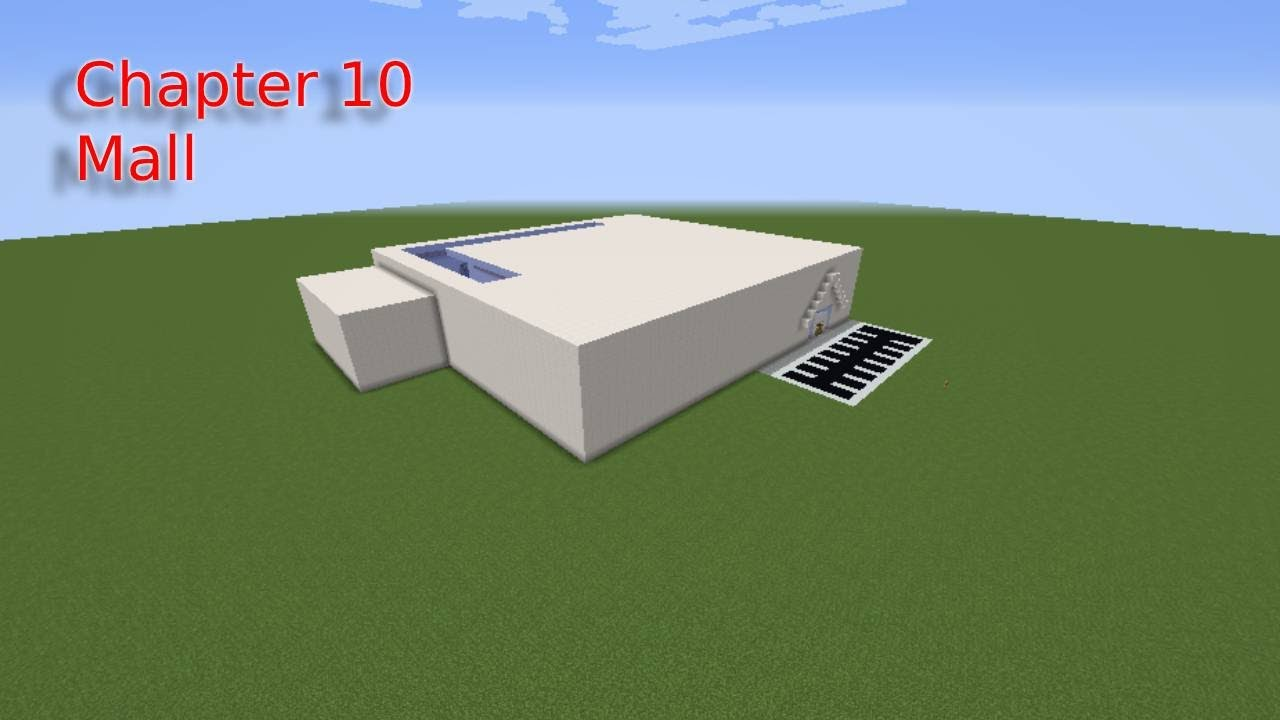 I Build Piggy Chapter 10 Mall In Minecraft Youtube