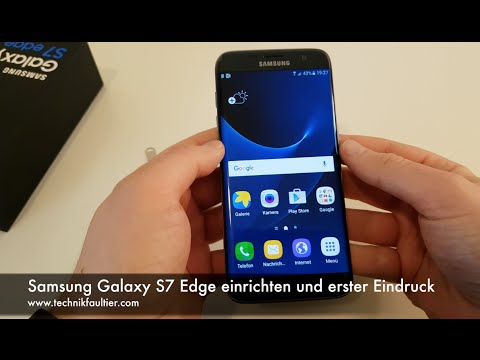 Samsung Galaxy S9 Edge einrichten und erster Eindruck