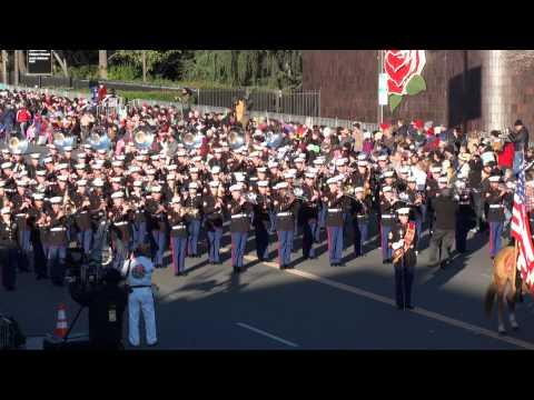 USMC West Coast Composite Band - 2015 Pasadena Rose Parade