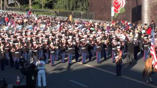 USMC West Coast Composite Band - 2015 Pasadena Rose Parade