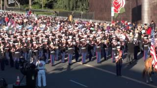 usmc west coast composite band 2015 pasadena rose parade