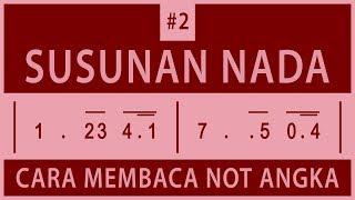 Gambar cover Cara Membaca Not Angka - #2 Susunan Nada
