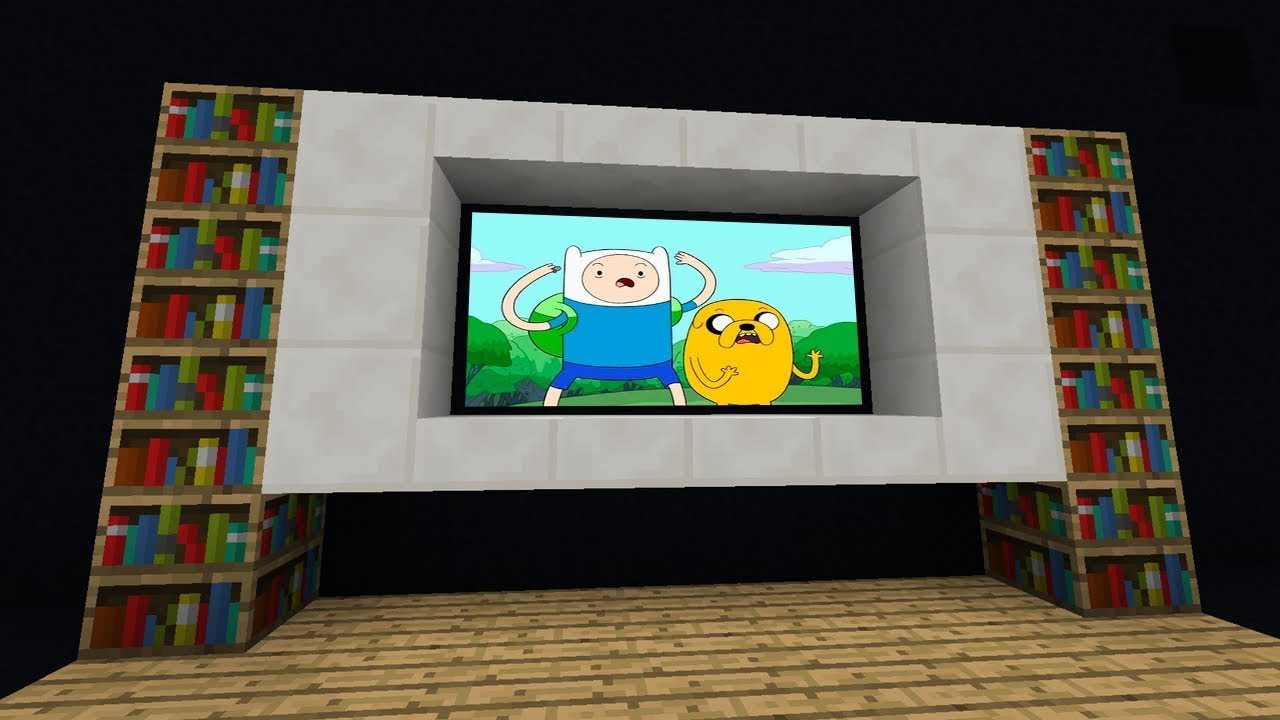 How to make a TV in Minecraft 49