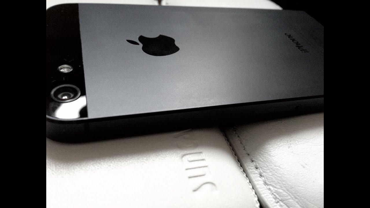Iphone 5 - Black Vs White - 4s Comparison / Scuffgate